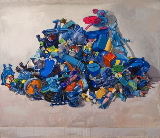 """Lost Cerulean Toy Mountain"""
