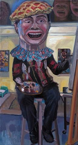 """""""Everyman Self Portrait - My Big Asian Head"""""""