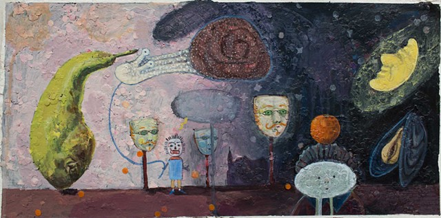 """Binche Carnival with Ensor Figure"""