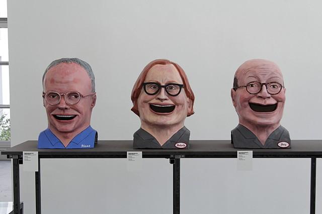 The Critics at Large; Hans, Roberta, Jerry