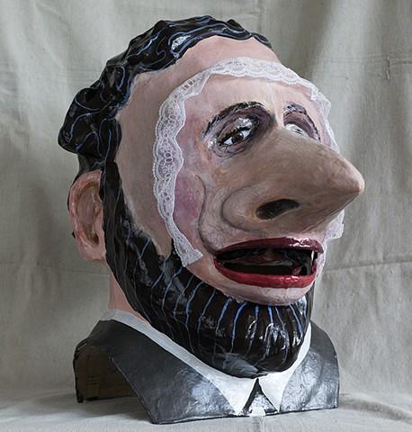 """James Ensor and his Wouse Mask"""