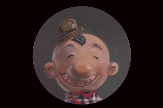 """Portrait of Mr. Hamburger Today"""