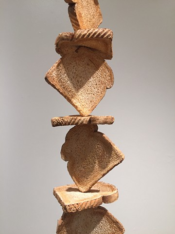 tall order, toast, food, art, masterpiece, brancusi, justin richel, Justin Richel, justinrichel, modern, post modern, minimal, maximal, modern art, post modern art, postmodern art, minimal art, maximal art, column, endless column, architecture, excess, sa