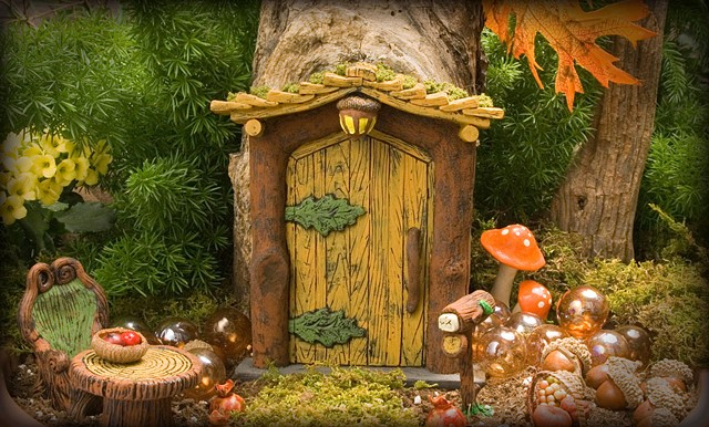 Rustic Fairy Door