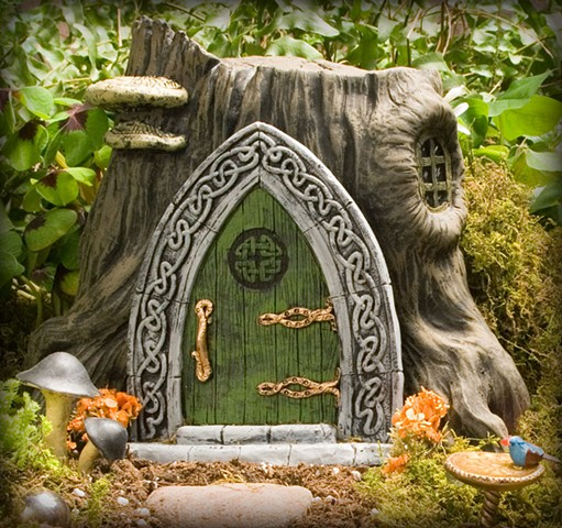 Celtic Fairy Door