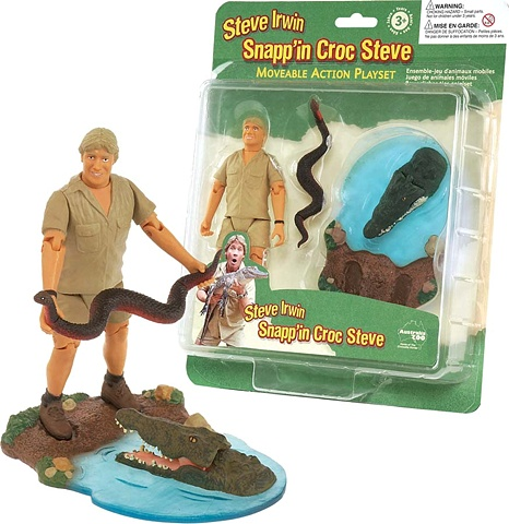 Steve Irwin action pack