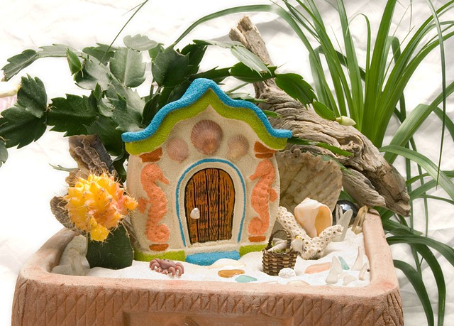Beach Comber Fairy Door