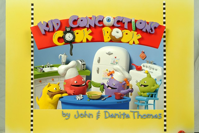 Kid Concoctions Cookbook cover