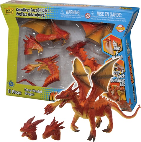 Morphs - Dragon Play Set    Wild Republic