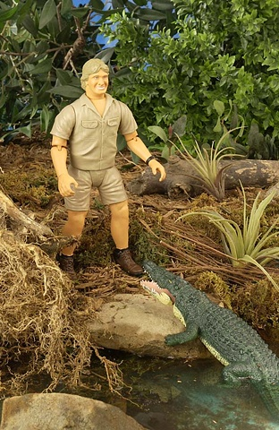 Steve Irwin talking action figure - Wild Republic