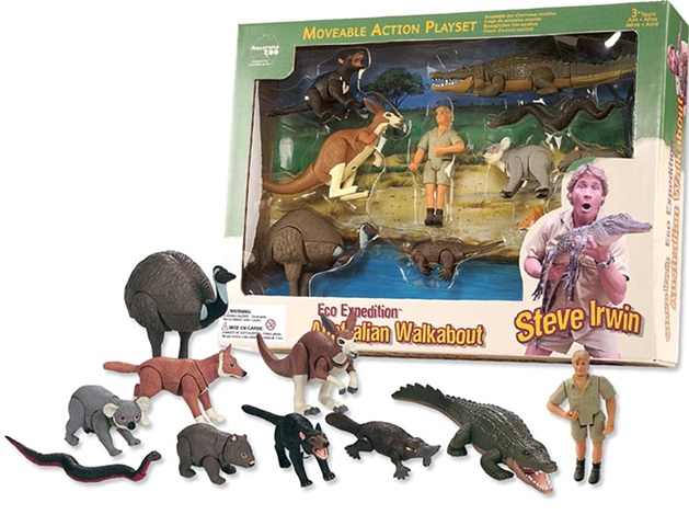 Steve irwin Australia Walk About Set