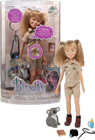 Bidi Irwin talking doll - Wild Republic