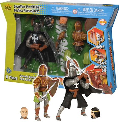 Morphs - Knight Play Set   Wild Republic