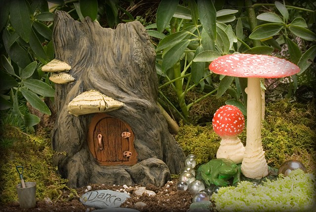 Hidden Dwelling Fairy Home