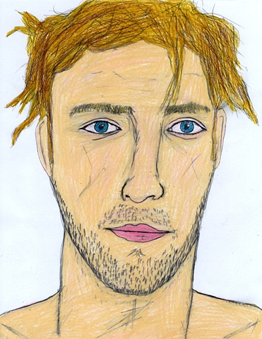 Drawing of Roddy from Myspace by Christopher Stanton