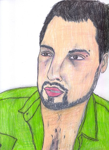 Portrait of Cristian Gonzales by Christopher Stanton
