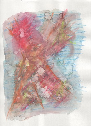 Abstract drawing by Christopher Stanton