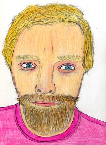Drawing of Ryan by Christopher Stanton