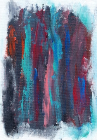 Abstract painting by Christopher Stanton