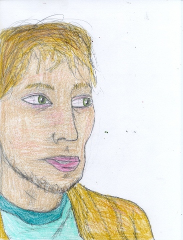 Drawing of Eric Cowan by Christopher Stanton