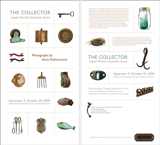 The Collector poster/mailer