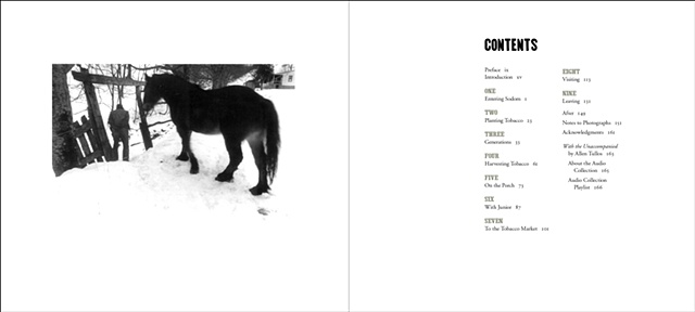 Table of Contents from SODOM LAUREL ALBUM