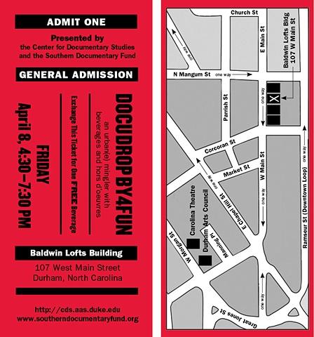 """Ticket"" invitation"