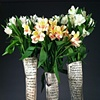 Raku Text Flowerpots
