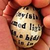 Thomas Merton text egg