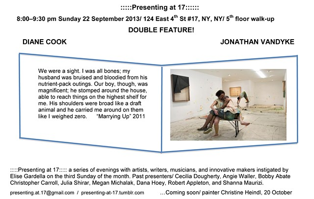 Jonathan VanDyke & Diane Cook