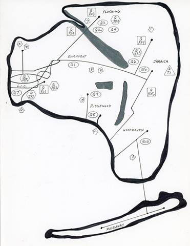 QUEENS MAP