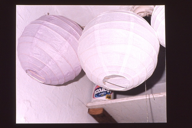 East 3rd Street / paper lanterns