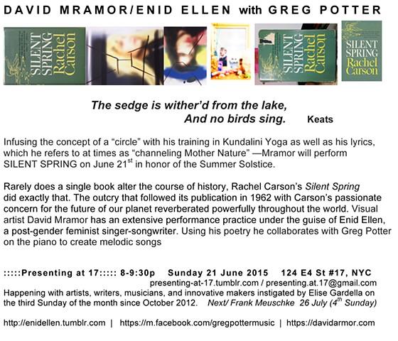 David Mramor/Enid Ellen with Greg Potter