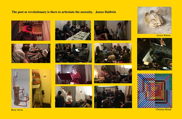39X17                                                                     :::::Presenting at 17::::: our 3 year anniversary celebration show at La MaMa  [card side 2]