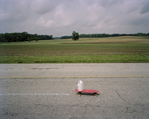 A Half Gallon of Milk Skateboarding Across the Midwest