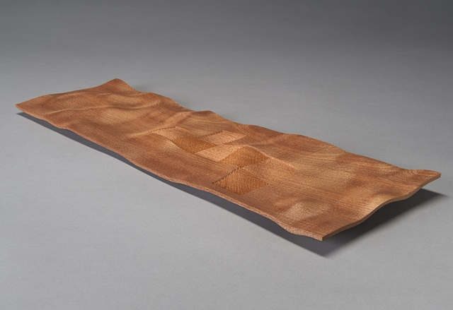 Tray in Sapele