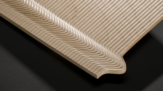 Tray in maple-detail