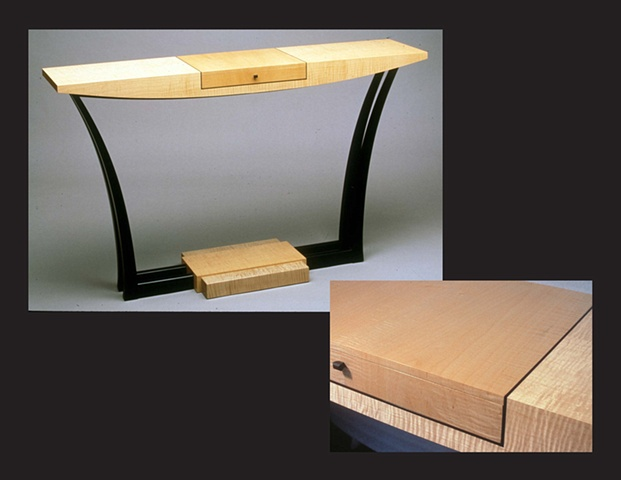 """Hall Table"", furniture piece by Rich Tannen"