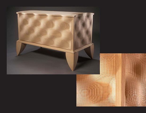 """""""Blanket Chest"""", furniture piece by Rich Tannen"""