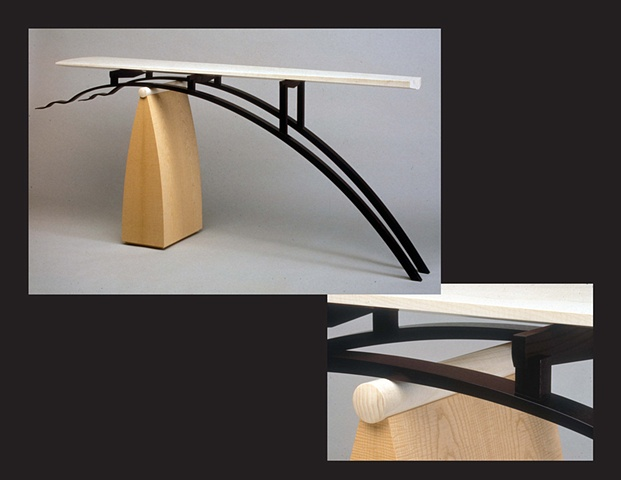 """Table"", furniture piece by Rich Tannen"