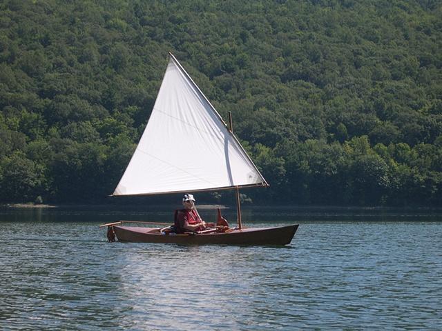 It sails