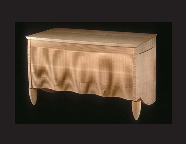 """Chest Over Drawers"",  furniture piece by Rich Tannen"