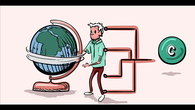 Carbon + Climate Change: A Comic Animation