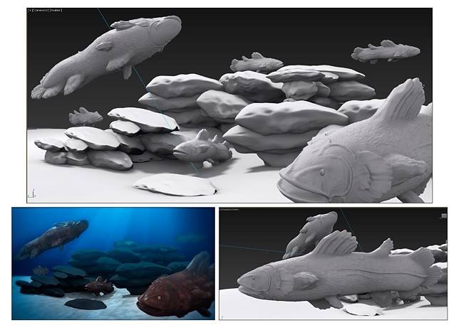 Prehistoric Marine Visualization