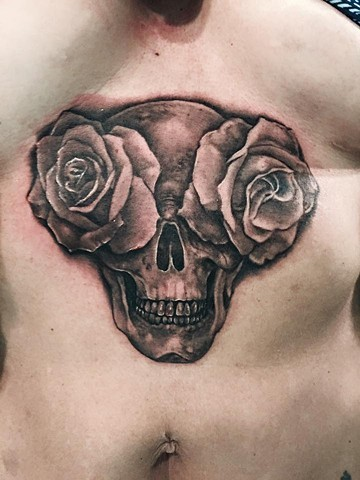 roses for eyes skeleton