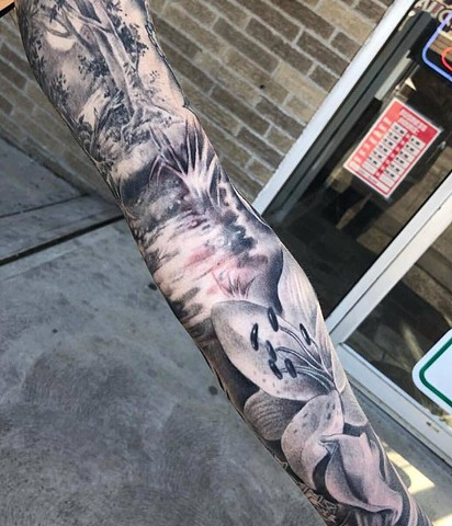 orchid sleeve