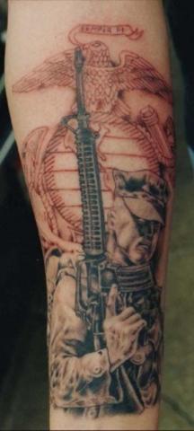 Fi tattoo semper Semper Fi