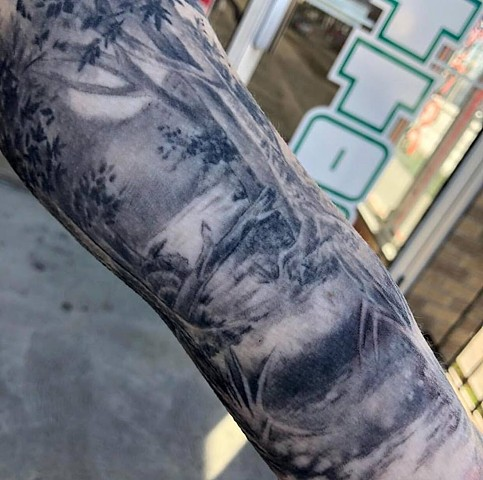 close up sleeve