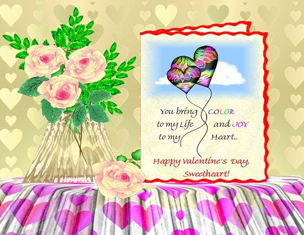 Romantice Valentine's Day Card