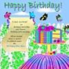 Cakeflower Birthday Card